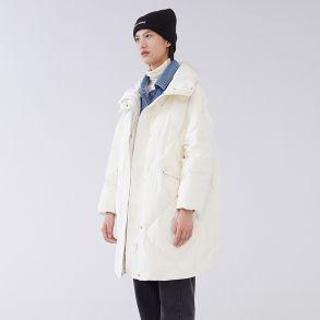 菱格牛仔大衣6020401045